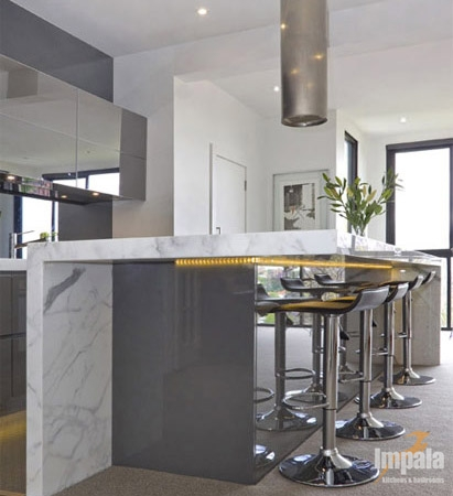 contemporary kitchen for apartment in sydney s east