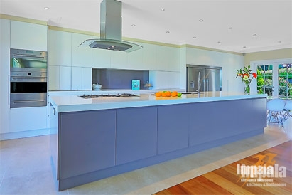 Large family kitchen for home in sydney s northern suburbs for Large family kitchen