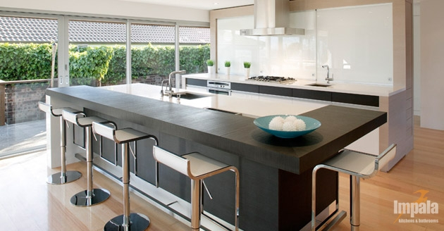 Island kitchen 4 for Modern kitchen design australia