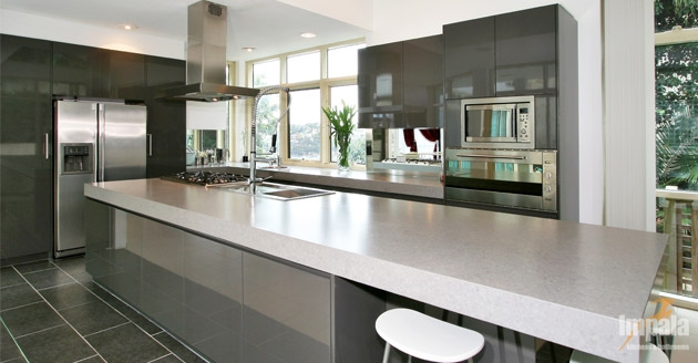 Contemporary island kitchen 4 - Modern kitchen island ...