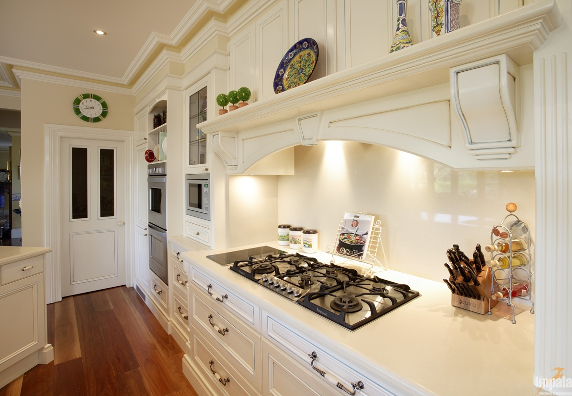 Handpainted provincial kitchen for Kitchen companies sydney