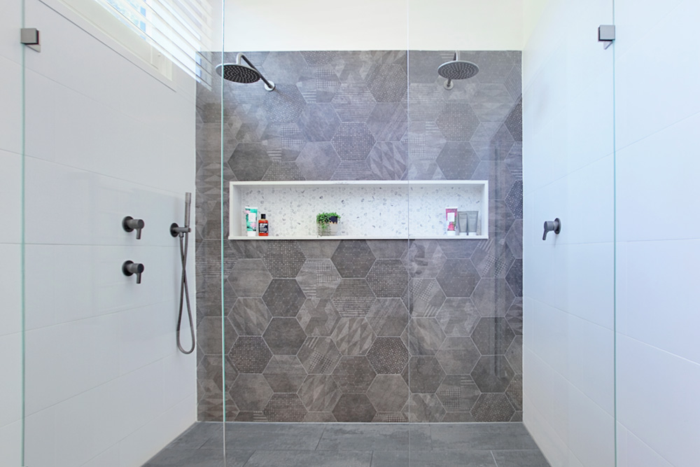 Free upgrade to a frameless shower screen