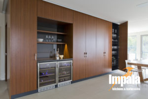 Butler Style Bar - Impala Kitchens